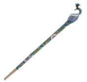 [Peacock] Antique Hair Stick Elegant Hair Chopsticks Hair Accessory