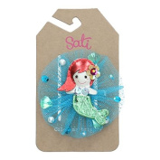 Sati MM. Mermaid Little Princess Hair Clips for Girls