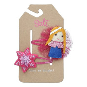 Sati Arctic Wonderful Little Princess Hair Clips for Girls