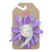 Sati Arctic Tully Purple Hair Clips for Girls