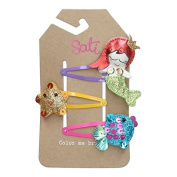 Sati Little Mermaid and The Gang Hair Clips for Girls