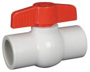 Hayward PVC Socket x Socket Ball Valve, Tee, 1.3cm Pipe Size - QVC1005SSEW