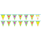 4.3m Spring Easter Bunny Pennant Banner