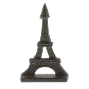 Eiffel Tower Cast Iron Place Card Holder Set | Photo European French Paris