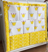 Baby Baby Crib Nursery Nappy Bag Storage Stacker Hanging Organiser With 9 Pockets Baby Room Decor