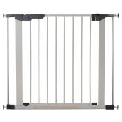BabyDan Premier Pressure Gate 70cm - 90cm , Silver
