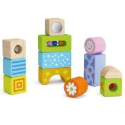 Viga Wooden Sensory Sound Blocks