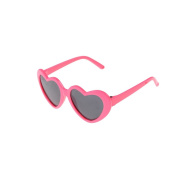 1 Pair of Heart Frame Doll Glasses Sunglasses for 46cm American Girl Dolls by TOYZHIJIA