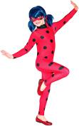 Miraculous - I-620794M - Classic Costume Ladybug Miraculous Costume + Mask – size M