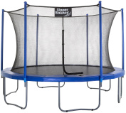 Upper Bounce 4.3m Trampoline and Enclosure Set with Easy-Assemble Feature