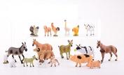 Farm Animal Toys Set Of 20 Pieces Kids toddlers playset