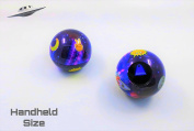 Unique Retro Space Themed Emoji Magic Ball   Mini-Size   Only One in the Market   Mystic Fortune Teller   Question 8 Ball Game that Answers Questions & Gives Advice   Gift Ideas   Party Supplies   Toys for all Ages