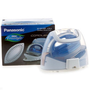 Panasonic 360º Freestyle Cordless Iron with Carrying Case NI-WL600 BLUE colour