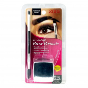 I Envy by Kiss All-In-One Brow Pomade - KBPM03 Ebony
