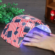 UV Nail Lamp,36W 18leds UV Led Light Nail Dryer Gel Polish Curing Sun Lamp Art Auto Sensor EU Plug