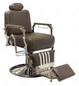 SkinAct Vintage Salon Chair - Brown