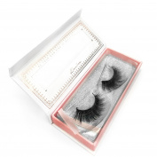 KASINA Mink Fur Fake Eyelashes 'Tiffany' 100% Original Mink Fur Hand-made False Lashes