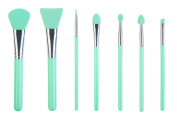 LORMAY 7-Piece Silicone Makeup Brush Set
