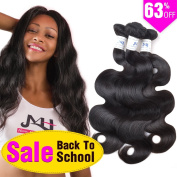 JVH Malaysian Virgin Body Wave Hair 3 Bundles 100% Unprocessed Virgin Human Hair Weft Extensions Natural Colour
