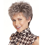 Short curly wig elderly wig rose net wig 2086- short curly wigs European wigs hairpieces wigs mother net wig
