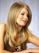 Wigs for Women Blonde Wig Synthetic Women's Wigs 60cm Long Wavy Wonderful Natural Wig