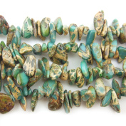 """COIRIS 15"""" Strand 9-14MM Real Natural Snakeskin Stone Chips Loose BeadsS for Necklace Jewellery DIY Making Design"""