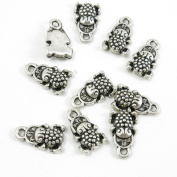 Price per 5 Pieces Silver Tone Jewellery Making Charms Supply E7CT7 Brave Troops Fortunate Toad