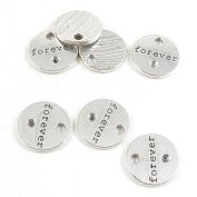 Price per 220 Pieces Antique Silver Tone Jewellery Making Charms Supply Q3XK0 Forever Signs