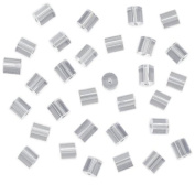 TONSEE 144-Piece Clear Earring Safety Backs for Fish Hook Earrings