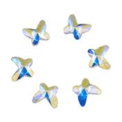 AD Beads Flatbacks No-Hotfix Rhinestones Crystal AB