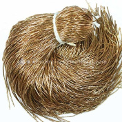 0.7MM(DM) (50 Yard/Packet) Bullion/Nakshi Metallic French Wire in Bronze Colour