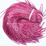 0.7MM(DM) (50 Yard/Packet) Bullion/Nakshi Metallic French Wire in Pink Colour