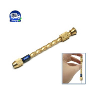 SPIRAL HAND DRILL 7.6cm - 2.2cm W/ STEEL CHUCK COLLET & WITHOUT SPRING, jewellery DRILLS