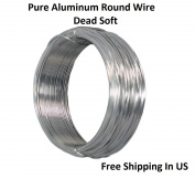 16 Ga (.050) Aluminium Round Wire 7.6m / Coil - Armature Wire