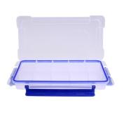 Awakingdemi 15 Slots Clear Plastic Storage Box Home Jewellery Sundries Organiser Boxes