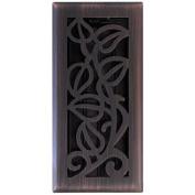 Imperial Manufacturing RG3279 10cm x 25cm . Bronze Vine Floor Register