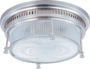 Maxim Lighting 25000CLSN Hi-Bay-Flush Mount, Satin Nickel