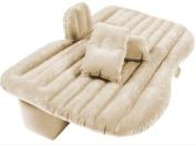 Car SUV Inflatable Air Bed Mattress Back Seat Cushion w/ Pillows Camping Travel