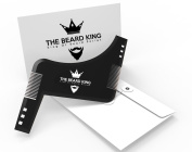 The Beard King Beard Shaping Tool Perfect Beard Lines With This Premium Quality Stencil Shaper Kit For Men. Many Beard Styles Possible With This Amazing Grooming Tool Template. Compatible With Beard Trimmer/ Razor To Easily Remove Facial Hair. The Bear ..