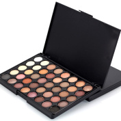 Eyeshadow Palette, Featurestop 40 Colour Natural Eyeshadow Cream Makeup Palette Set(Matte,Shimmer)