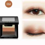 KaiCran 3 Colours Women Cosmetic Makeup Neutral Nudes Warm Eyeshadow Palette