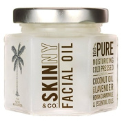 Skinny & Co. 120ml Coconut and Lavender Facial Oil, New