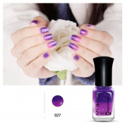 Creazy Thermal Nail Varnish Colour Changing Peel Off Varnish Beauty Sexy Cosmetic