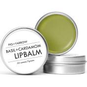 Fig + Yarrow Lip Balm | Basil+Cardamom .740ml