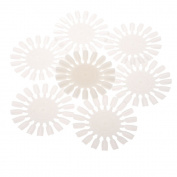 Buildent(TM) 10PCS Roundness Tips Nail Polish Colour Card Template makeup styling tools Nail art tips nail care tools