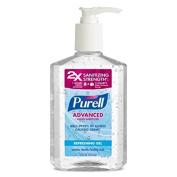 Purell Pump 350ml Advanced Refreshing and Moisturising Gel Hand Sanitizer