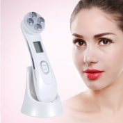 Skin Care Electrical Beauty Device, Multifunctional USB Charging Beauty Device Radio Frequency Skin Care for Nourishing Anti-wrinkle Tightening
