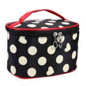 Mitsutomi 2017 Portable Cosmetic Bag Bowknot Waterproof Cosmetic Bag Storage