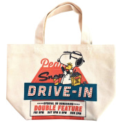 Peanuts Snoopy Lunch Tote Bag SNAP1662 Drive-In