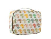 Multifunction Travel Cute Printed Cosmetic Bag Top Handle Organiser Makeup Case for Women